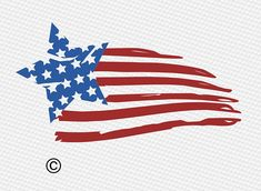 American Flag Painting, American Flag Art, Fourth Of July Decor, 4th Of July Fireworks, Patriotic Tattoos, Flag Tattoos, Tatoos, Flying Flag, Autumn Painting