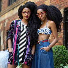 TK and Cipriana Quann, Bloggers at Urban Bush Babes