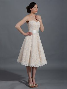 Lace wedding dress wedding dress bridal gown door ELDesignStudio