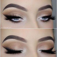 Eye Makeup Tips.Smokey Eye Makeup Tips - For a Catchy and Impressive Look Cat Eye Makeup, Eye Makeup Tips, Makeup Goals, Skin Makeup, Makeup Inspo, Makeup Inspiration, Makeup Ideas, Makeup Geek, Beauty Makeup