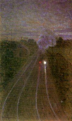 "windypoplarsroom: ""The Train ""Eugene Jansson"" """
