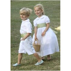 French Maison de Couture Little Eglantine create beautifully classic flower girl dresses and charming page boy outfits in luxury fabrics. Girls Dresses Uk, Girls Bridesmaid Dresses, Wedding Dresses, Bridesmaids, Designer Flower Girl Dresses, Green Flower Girl Dresses, Flower Girls, Flower Children, Children Dress