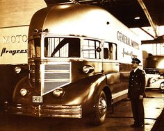 1936 GM Futurliner. This looks more aerodynamic than most vehicles produced over the next 60 years. What happened?