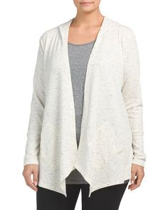Plus Active Fly Away Cardigan