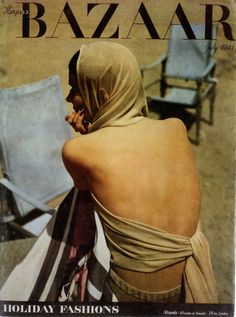 harper's bazaar, 1941. from Diana Vreeland: The Eye Has to Travel