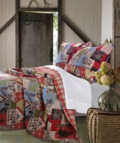 Look at this #zulilyfind! Rustic Lodge Quilt Set by Greenland Home Fashions #zulilyfinds
