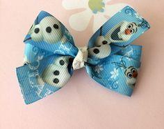 Laço Frozen Olaf