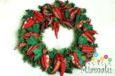 guirlanda de Natal, adorei fazer. @miamaluartesanato .
