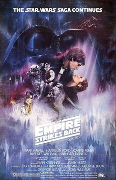 Star Wars:Episode V The Empire Strikes Back (1980) After the rebels have been brutally overpowered by the Empire on their newly established base, Luke Skywalker takes advanced Jedi training with Master Yoda, while his friends are pursued by Darth Vader as part of his plan to capture Luke