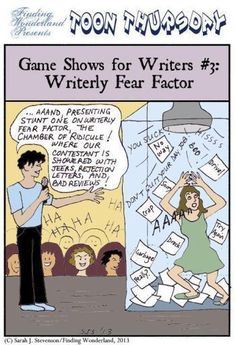 Game Shows for Writers - Fear Factor