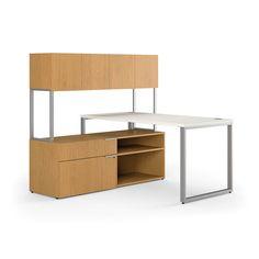 Contemporary Laminate Desk Layout Packages - L-Shape - 60'x60'