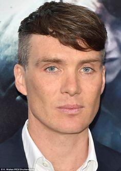 Piercing:Sweeping his signature hair cut to one side, the Inception actor looked comfortable and cool as he joined his co-stars on the carpet