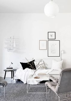 skandinavisch wohnen 50 schicke ideen - Skandinavisch Wohnen Wohnzimmer