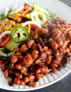 My Best Baked Beans. These beans are A-mazing!