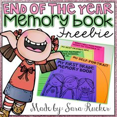 This is a FREE SAMPLE of my differentiated End of the Year Memory Book!This sample book includes:My Self-PortraitMy Favorite Memory from this school year is...My Best Friends are...What I will miss most about my teacher is...My goals for next year are...Want the FULL, DIFFERENTIATED Memory Book that includes covers for grades K-4?