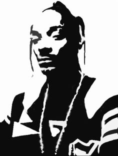 Sitting Buddha Silhouette by kattekrab - Black silhouette of sitting Buddha. White Art, Black Art, Black And White, Snoop Dogg, Airbrush, Silhouette Art, Stencil Art, Pyrography, Art Inspo