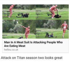 Attack on Titan/Shingeki no Kyojin || anime funny