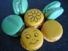 Macarons chocolat blanc :D, Recette de Macarons chocolat blanc :D par Ofelaye c. - Food Reporter