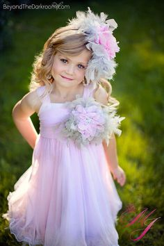 Pink and Grey Feather Flower Girl Tutu Dress http://www.tutusweetshop.com/item_784/Pink-and-Grey-Feather-Flower-Girl-Tutu-Dress.htm
