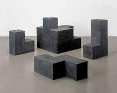 Damien Ortega, Concrete Cube (black) 2003, cast concrete with black pigment