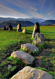 Castlerigg Stone Circle . England