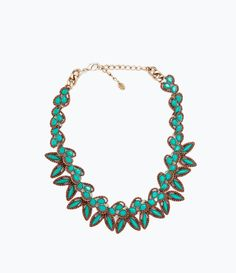 ZARA - WOMAN - NECKLACE WITH PAISLEY SHAPES