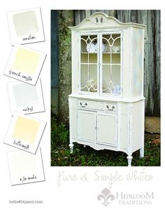 Whites Color Card