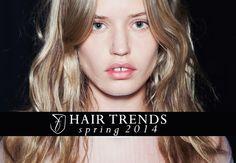 Spring 2014 hair trends