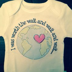 I was worth the wait wait wait miracle baby by ShopCustomApparel