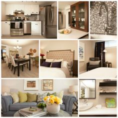 Jessica and Aaron's renovated basement apartment #IncomeProperty