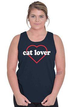 Kitten Pet Crazy Cat Lady Cute Insta Womens Vest Tank Top Cat Pocket Logo