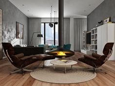 Квартира г.К. - Галерея 3ddd.ru