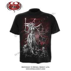 Spiral T-Shirts Shoes & Accessories Blind, T Shirt, Mens Tops, Halloween Vampire, Gothic Horror, Dark Gothic, Folk, Fantasy, Clothing