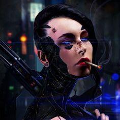 Bildresultat för cyberpunk