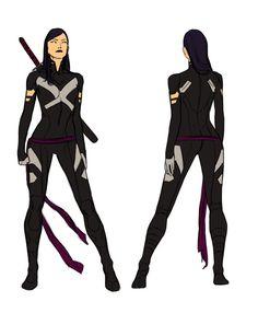 Uncanny X-force Vol. 2 - Psylocke by *anklesnsocks