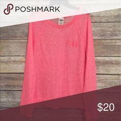 Pink Sweatshirt In great condition PINK Victoria's Secret Tops Sweatshirts & Hoodies