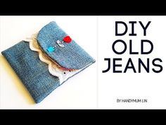 Mother's day special gift   Soufeel unboxing   How to sew a gift pouch diy tutorial   diy old jeans❤ - YouTube