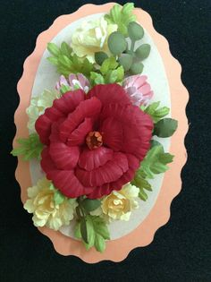 My floral punch craft work :)