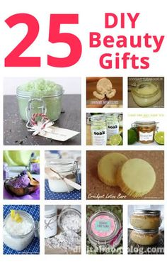 Beauty DIY Gifts