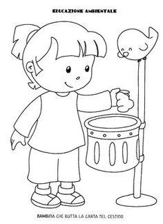 Blog scuola, Schede didattiche scuola dell'infanzia, La maestra Linda, Schede didattiche da scaricare, Preschool Number Worksheets, Numbers Preschool, Worksheets For Kids, Preschool Crafts, Activities For Kids, Adult Coloring, Coloring Pages, Kids Routine Chart, Clean Up Day