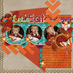 The Digichick :: Digital Kits :: Thankful for Family by Meagan's Creations and Melissa Bennett Designs