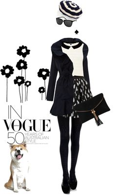 """""""High street blues"""" by pensivepeacock ❤ liked on Polyvore"""