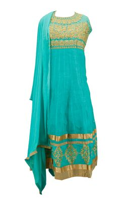 Design 12 - embellished necklines with silk #lineaments #turquoise