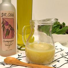 The Best Champagne Vinaigrette - Krazy Kitchen Mom - Vinaigrette recipe, champagne vinegar, vinegar and oil salad dressing - Vinaigrette Salad Dressing, Salad Dressing Recipes, Salad Dressings, Balsalmic Dressing, Champagne Vinaigrette, Champagne Vinegar, Citrus Vinaigrette, Fruit Recipes, Cooking Recipes
