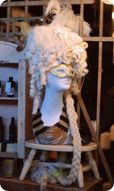 Marie-Antoinette wig