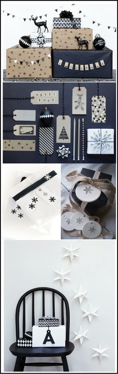 Black And white Christmas / love my Little bazar