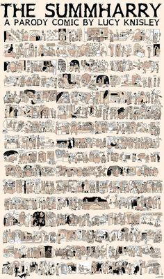 Harry Potter condensed comics.