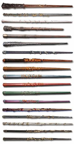 Wizarding World Wand Catalog...i do wish there was a listing of owner next to each wand