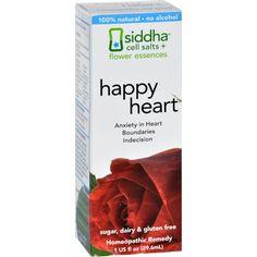 Sidda Flower Essences Heart - 1 Fl Oz