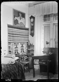 Varró István lakása Budapest 1934  Kinszki Imre